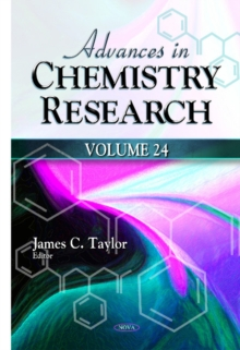 Advances in Chemistry Research : Volume 24, Hardback Book