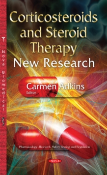 Corticosteroids & Steroid Therapy : New Research, Hardback Book