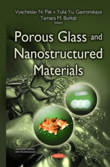 Porous Glass & Nanostructured Materials, Paperback Book