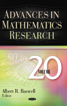 Advances in Mathematics Research : Volume 20, Hardback Book
