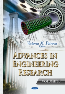 Advances in Engineering Research : Volume 10, Hardback Book