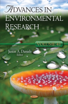 Advances in Environmental Research : Volume 41, Hardback Book