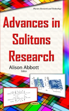Advances in Solitons Research, Hardback Book