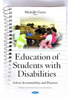 Education of Students with Disabilities : School Accountability & Practices, Hardback Book