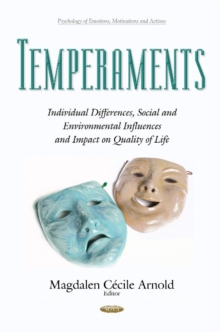 Temperaments : Individual Differences, Social & Environmental Influences & Impact on Quality of Life, Hardback Book