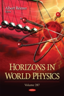 Horizons in World Physics : Volume 287, Hardback Book