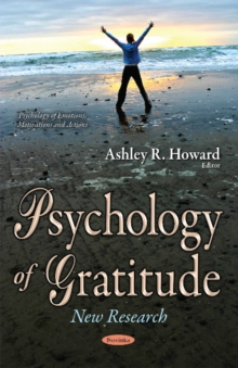 Psychology of Gratitude : New Research, Paperback Book