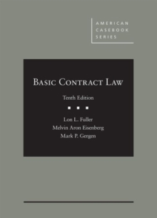 Basic Contract Law - CasebookPlus, Mixed media product Book