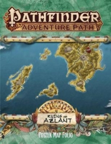Pathfinder Campaign Setting: Ruins of Azlant Poster Map Folio, Game Book
