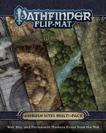 Pathfinder Flip-Mat: Ambush Sites Multi-Pack, Game Book