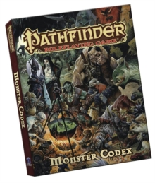 Pathfinder Roleplaying Game: Monster Codex Pocket Edition, Paperback / softback Book