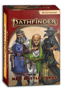 Pathfinder NPC Battle Cards (P2), Game Book