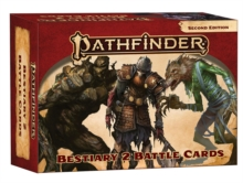 Pathfinder Bestiary 2 Battle Cards (P2), Game Book