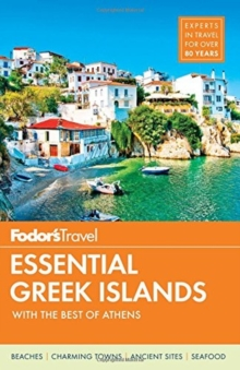 Fodor's Essential Greek Islands, Paperback Book