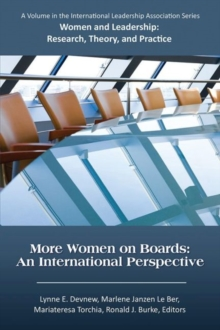More Women on Boards : An International Perspective, Paperback / softback Book