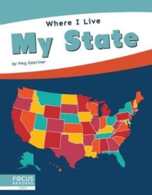 Where I Live: My State, Hardback Book