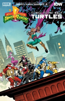 Mighty Morphin Power Rangers/Teenage Mutant Ninja Turtles #4, PDF eBook