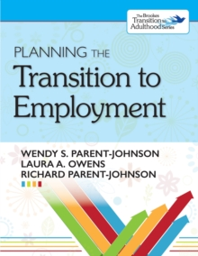 Planning the Transition to Employment, EPUB eBook