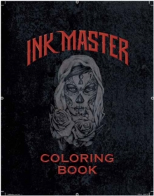 Ink Master Coloring Book, Paperback Book