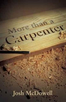 More Than a Carpenter (Pack of 25), Pamphlet Book