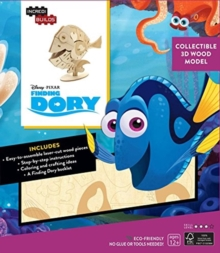 Incredibuilds: Finding Dory 3D Wood Model, Kit Book