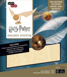 IncrediBuilds: Harry Potter : Golden Snitch 3D Wood Model and Booklet, Kit Book