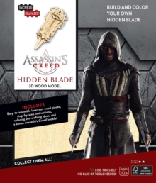 IncrediBuilds: Assassin's Creed 3D Wood Model, Kit Book
