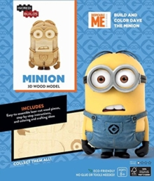 IncrediBuilds: Minions 3D Wood Model, Kit Book