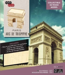 IncrediBuilds: Paris: Arc de Triomphe 3D Wood Model, Kit Book
