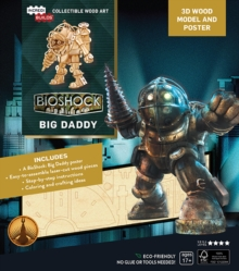 IncrediBuilds: BioShock: Big Daddy 3D Wood Model and Poster, Kit Book