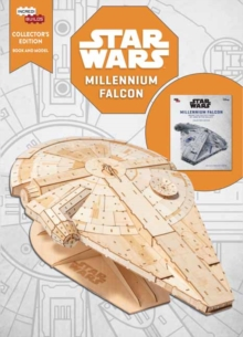 IncrediBuilds: Millennium Falcon: Collector's Edition Book and Model, Kit Book