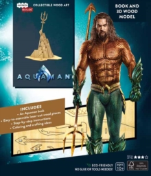 IncrediBuilds: Aquaman Book and 3D Wood Model, Kit Book