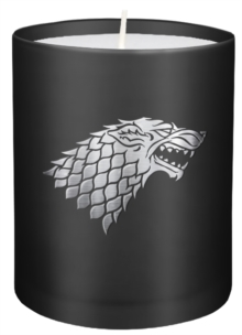 Game of Thrones: House Stark Large Glass Candle, Other printed item Book