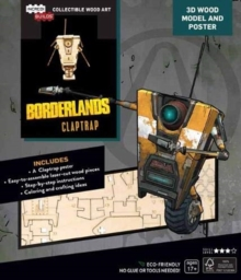 Incredibuilds: Borderlands Clap Trap, Kit Book