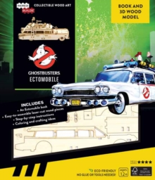 IncrediBuilds: Ghostbusters: : Ectomobile Book and 3D Wood Model, Kit Book