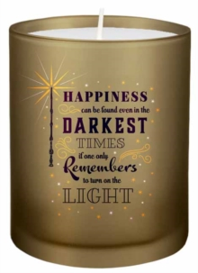 Harry Potter: Turn on the Light Glass Candle, Other printed item Book