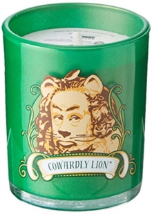 The Wizard of Oz: Cowardly Lion Glass Votive Candle, Other printed item Book