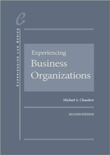 Experiencing Business Organizations, Hardback Book