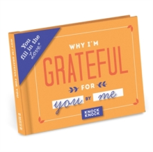 Knock Knock Why I'm Grateful for You Fill in the Love Journal, Record book Book