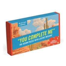 Knock Knock You Complete Me Message Puzzle, Jigsaw Book