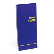Knock Knock 7 Days a Week Planner (Purple), Calendar Book
