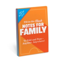 Knock Knock Fill in the Love Notes for Family, Other printed item Book