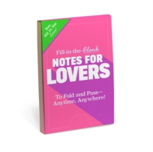 Knock Knock Fill in the Love Notes for Lovers, Other printed item Book