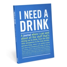 Knock Knock I Need A Drink Inner-Truth Journal,  Book