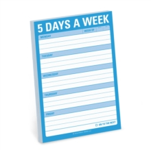 Knock Knock 5 Days A Week Great Big Sticky Note,  Book