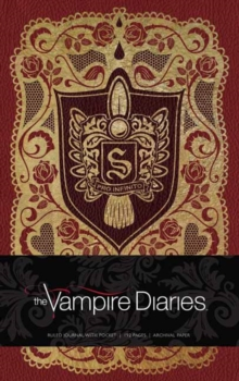 The Vampire Diaries Hardcover Ruled Journal, Hardback Book