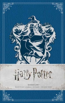 Harry Potter: Ravenclaw Hardcover Ruled Journal, Hardback Book
