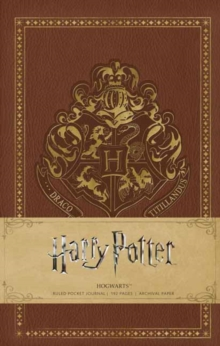 Harry Potter Hogwarts Hardcover Ruled Journal, Hardback Book