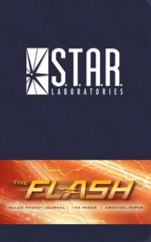 The Flash: S.T.A.R. Labs Ruled Pocket Journal, Hardback Book