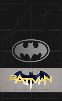 Batman Ruled Pocket Journal, Hardback Book